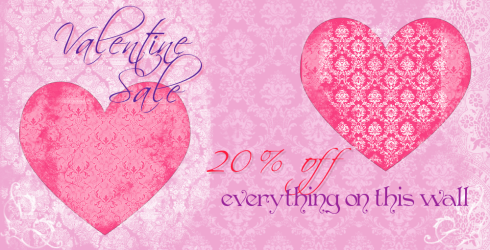 TW - ValentineSaleSign