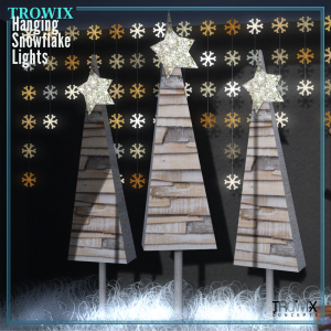 Trowix - Hanging Snowflake Lights MP2