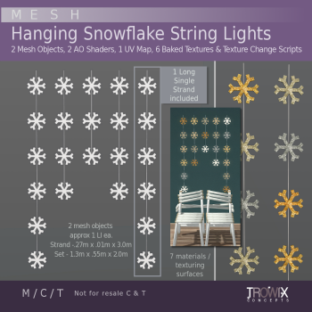 TW - Hanging Snowflake Lights Vend_